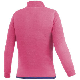Woolpower 200 Zip Turtleneck Kids sea star rose